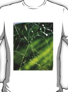 Abstract Spider Web T-Shirt