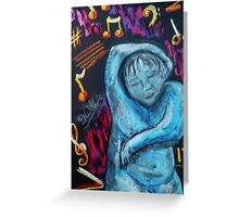Feeling Music by 'Donna Williams' Greeting Card