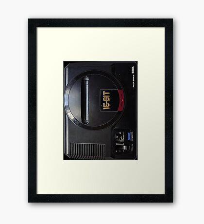 MEGA DRIVE! Framed Print