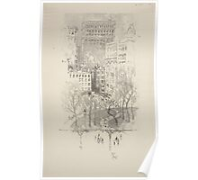 281 Lithographs of New York in 1904 Union Square Poster