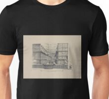 245 Interior of main library of General Society of Mechanics and Traders No 18 East Sixteenth Street NY Unisex T-Shirt