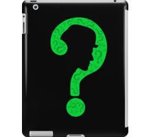 The Riddler ? iPad Case/Skin