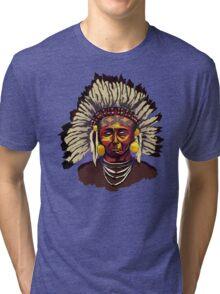 Native American Chief Tri-blend T-Shirt