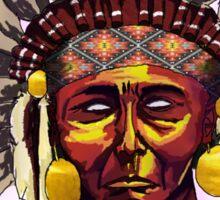 Native American Chief Sticker