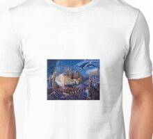 """MERMAIDS WORLD"" by artist ED GEDROSE Unisex T-Shirt"