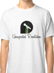 Unexpected Resolution Black Logo 2016 Classic T-Shirt