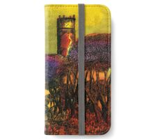 Wandering Into The Wilderness Of The Setting Sun iPhone Wallet/Case/Skin