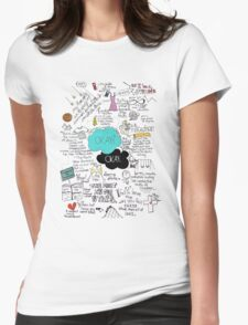 The Fault in Our Stars - ORIGINAL ARTIST Womens Fitted T-Shirt