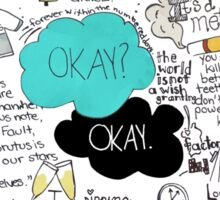 The Fault in Our Stars - ORIGINAL ARTIST Sticker