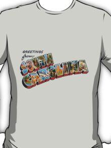 """Greetings from South Carolina"" T-Shirt"