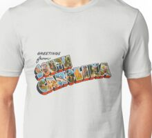 """Greetings from South Carolina"" Unisex T-Shirt"