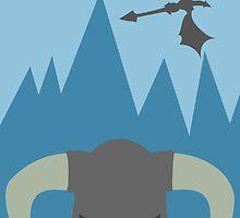 Skyrim Dragonborn by paulaxd