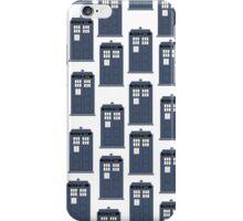 Doctor WHO Tardis Pattern iPhone Case/Skin