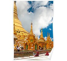 Pagoda Shwedagon Poster