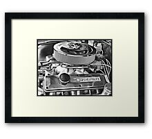 Chevy Engine Framed Print