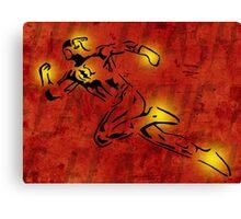 The Flash Cutout/Glow Canvas Print