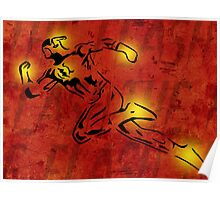 The Flash Cutout/Glow Poster