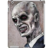 Gentlemen illustration iPad Case/Skin
