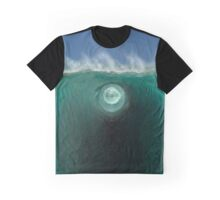 Time Traveling Wave Into Another Inter-Dimensional World Graphic T-Shirt