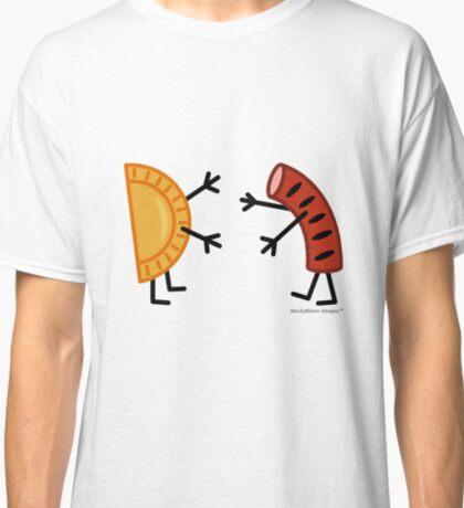 Pierogi & Kielbasa - Funny Friendly Foods Classic T-Shirt