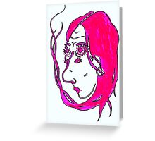 Seeping Into Oblivion Greeting Card
