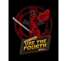 Use The Fourth Wall Photographic Print