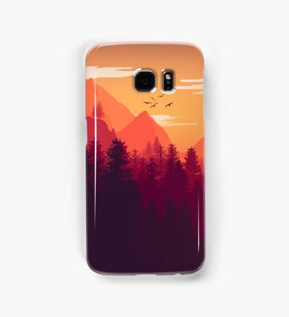 Firewatch Art Design - 4k  Samsung Galaxy Case/Skin