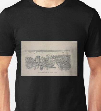 724 West view from the Singer Tower Unisex T-Shirt