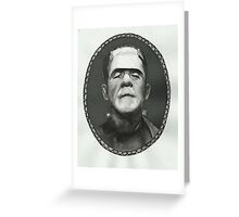 Boris Karloff as Frankenstein's Monster Greeting Card