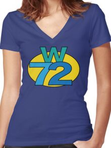 Super Funky W72 T-Shirt Women's Fitted V-Neck T-Shirt
