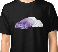 BMW E36 Burnout in purple watercolor Classic T-Shirt