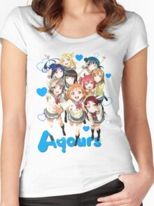 Aqours V2 Women's Fitted Scoop T-Shirt