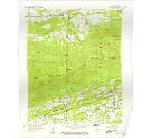 USGS TOPO Map Arkansas AR Bates 257941 1958 24000 Poster
