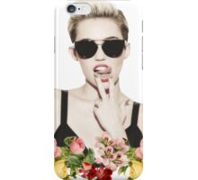 Miley Floral iPhone Case/Skin