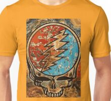 Great dead - deadhead lightening skull Unisex T-Shirt