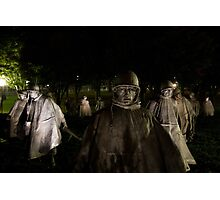 Korean War Memorial Photographic Print