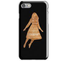 Floating Emma iPhone Case/Skin