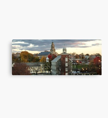 Mill Town Canvas Print