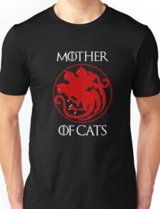 Game Throne Mother of Cats T-Shirt Birthday Gift Unisex T-Shirt