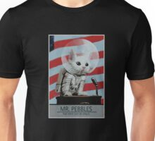 Mr Pebbles T-shirt - The first cat in space Unisex T-Shirt