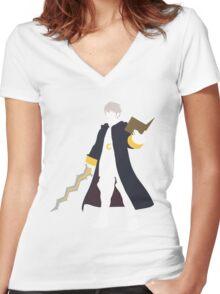 Robin Vector Women's Fitted V-Neck T-Shirt