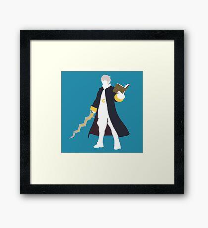 Robin Vector Framed Print