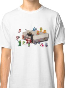 Nintendo 8-bit retro throwback Classic T-Shirt