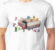 Nintendo 8-bit retro throwback Unisex T-Shirt