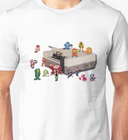 Nintendo 8-bit retro throwback Unisex T-Shirt