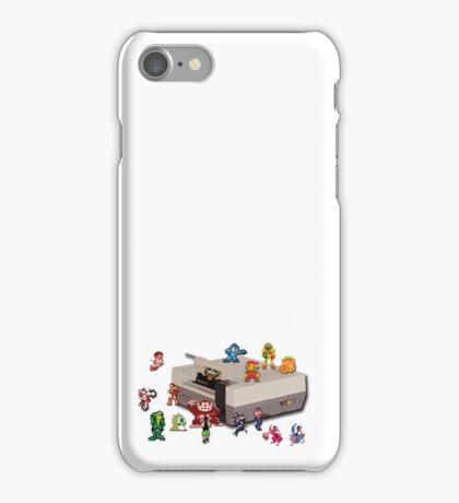 Nintendo 8-bit retro throwback iPhone Case/Skin
