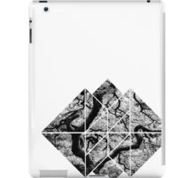 black and white tree logo iPad Case/Skin