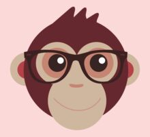 Hipster Chimp Baby Tee
