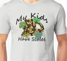 My Kids Have Scales Normal Ball Python Unisex T-Shirt