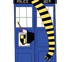 Hufflepuff Tardis by Crystal Friedman
